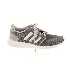 Adidas Gray & White Sneakers